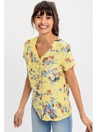 New Laviva Gömlek Sarı